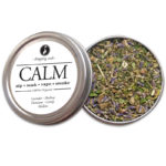CALM Organic Herbal Smoke Tea Bath Vape Aromatherapy Blends