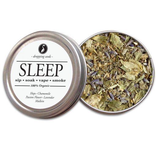 SLEEP Organic Herbal Smoke Tea Bath Vape Aromatherapy Blends