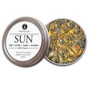 SUN Organic Herbal Smoke Tea Bath Vape Aromatherapy Blends