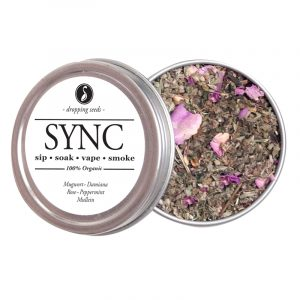 SYNC Organic Herbal Smoke Tea Bath Vape Aromatherapy Blends