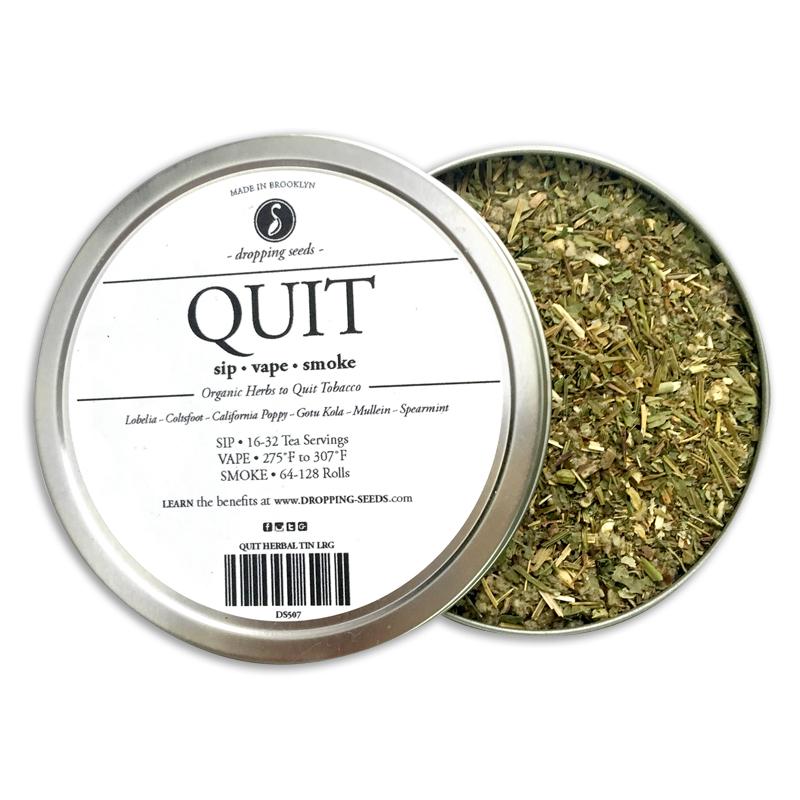 Quit Multi Use Herbal Blend Smoking Cessation