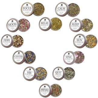 Dropping Seeds Organic Herbal Smoke Tea Bath Vape Aromatherapy Blends