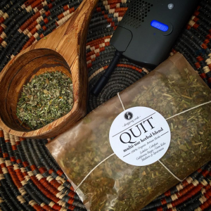 Organic, Smokable herbal tea, vape and bath