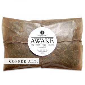 AWAKE Organic Herbal Smoke Tea Bath Vape Aromatherapy Blends