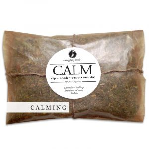CALM Organic Herbal Smoke Tea Bath Vape Aromatherapy Blends