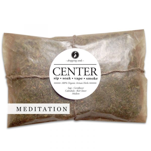 CENTER Organic Herbal Smoke Tea Bath Vape Aromatherapy Blends