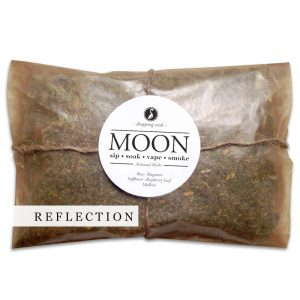 MOON Organic Herbal Smoke Tea Bath Vape Aromatherapy Blends