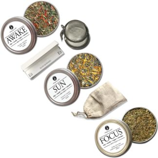 Dropping Seeds Organic Herbal Smoke Tea Bath Vape Aromatherapy Blends