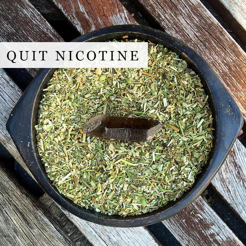 Quit Multi Use Herbal Blend Smoking Cessation