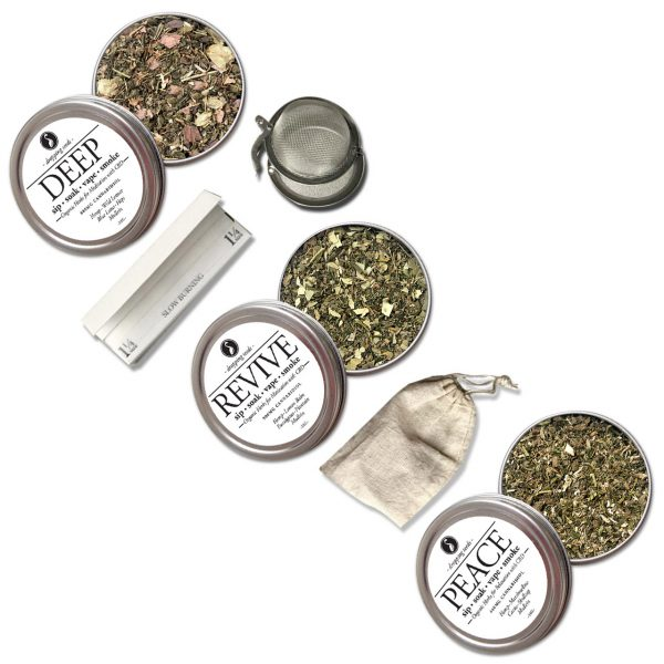 Organic Herbal Smoke, Vape, Bath, Tea, Mixology Blend Dropping Seeds Legal Hemp Cannabinoids CBD CBA CBG THC