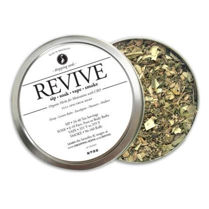 REVIVE Hemp CBD Organic Herbal Tea Smoke Blend Bath Vape Aromatherapy