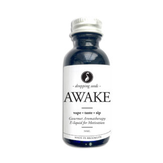 Awake Alert Organic Herbal Liquid Vape Aromatherapy Cocktail Mocktail Bitter