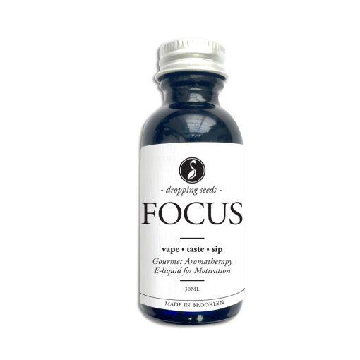 Focus Organic Herbal Liquid Vape Aromatherapy Cocktail Mocktail Bitter