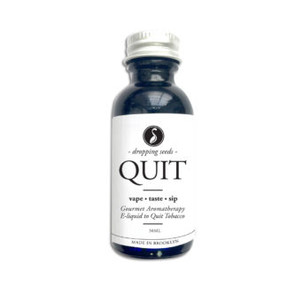 Quit Organic Herbal Liquid Vape Aromatherapy Cocktail Mocktail Bitter