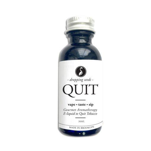 Quit Organic Herbal Liquid Vape Aromatherapy Cocktail Mocktail Bitter