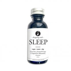 Sleep Organic Herbal Liquid Vape Aromatherapy Cocktail Mocktail Bitter Melatonin