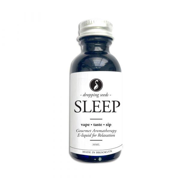 Sleep Organic Herbal Liquid Vape Aromatherapy Cocktail Mocktail Bitter Melatonin