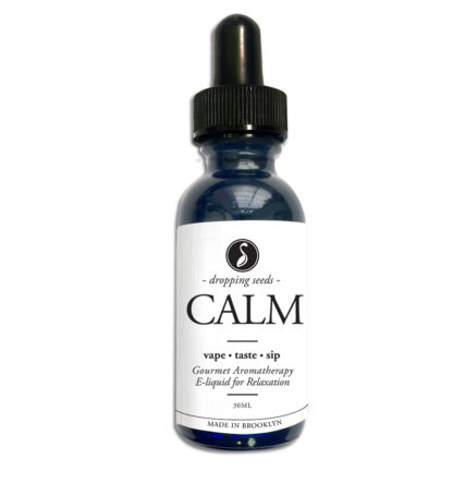 CALM Organic Herbal Liquid Vape Aromatherapy Cocktail Mocktail Bitter