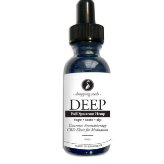 Deep Hemp CBD Organic Herbal Liquid Vape Aromatherapy Cocktail Mocktail Bitter