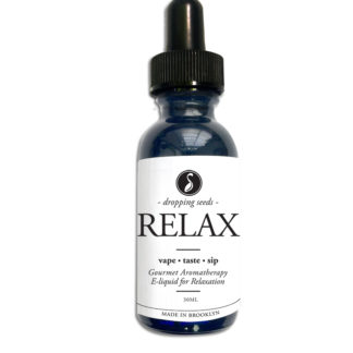 Relax Organic Herbal Liquid Vape Aromatherapy Cocktail Mocktail Bitter