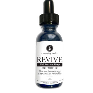 Revive Hemp CBD Organic Herbal Liquid Vape Aromatherapy Cocktail Mocktail Bitter
