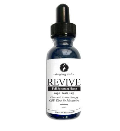 Revive Hemp CBD Organic Herbal Liquid Vape Aromatherapy Cocktail Mocktail Bitter