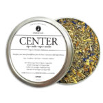 CENTER Organic Herbs for Meditation by Smoking Tea Bath Vape with Sage, Cornflower, Red Clover, Calendula + Mullein