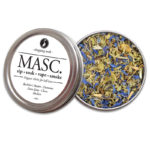 MASC HIS Organic Herbs Aphrodisiac by Smoking Tea Bath Vape with Bachelors Button, Damiana, Kava Kava, Cloves + Mullein