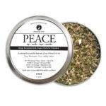 Organic Hemp Fortified Herbal Smoke Tea Bath Vape Aromatherapy Blends PEACE
