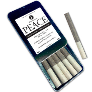 PreRoll Organic Hemp Fortified Herbal Smoke Tea Bath Vape Aromatherapy Blends PEACE