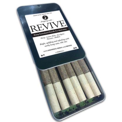 PreRoll Organic Hemp Fortified Herbal Smoke Tea Bath Vape Aromatherapy Blends REVIVE