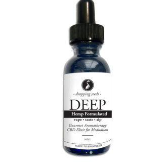 Organic Hemp Fortified Herbal Vape Elixir and Bitter DEEP