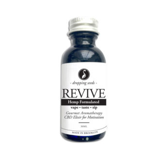Organic Hemp Fortified Herbal Vape Elixir and Bitter REVIVIE