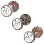 Organic Herbal Trio for Meditation & Lucid dreaming for Smoking Tea Tisanes Bath Vape with Mugwort, Damiana, Rose, Peppermint, Rose, Mugwort, Safflower, Raspberry Leaf, Sage, Cornflower, Red Clover, Calendula + Mullein