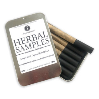 Organic Herbal Handmade Preroll Cigarettes for Relaxation, Motivation & Mediation in unbleached HEMP paper | All 12 Blends in a Sample pack